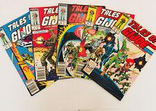 Tales Of GI Joe Lot 5 Issues 4,5,6,7,8 1982
