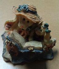 "Boyds Bears ""Women's Work"" (Daphene and Eloise) Bearstone Collection #2251"