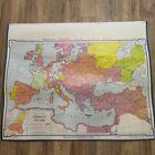 VTG 1964 Denoyer Geppert Social Sciences Classroom Map H9 Europe Charles V