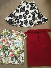 3 Skirts  1 BWT And 2 Worn Once