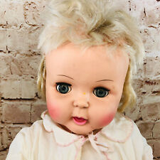 "Vintage 1964 Horsman Thirstee Walker Doll Tb-26 27"""