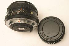 Pentax SMC 28 mm F3.5 Lens. Pentax PKM Fit