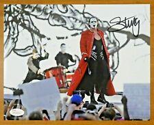 Sting Wrestler Signed 8x10 Photo with JSA Sticker No Card
