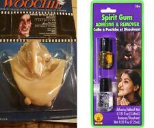 NEW Witch Set Woochie LRG Cinema Secrets w0127 W/ SPIRIT GUM REMOVER & ADHESIVE