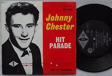 JOHNNY CHESTER Hit Parade EP 60's OZ Rock 'N' Roll THUNDERBIRDS W&G AUSTRALIA