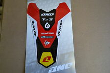 HONDA REAR  FENDER GRAPHICS CRF450R CRF450 2009-2012 & 2010-2013 CRF250R CRF250