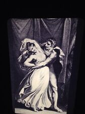 "Henry Fuseli ""Diomedes & Cressida"" German Romantic Art 35mm Glass Slide"