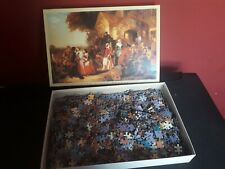 """JR Arrival of the Coach 1500 Piece Jigsaw Puzzle 24"""" by 36"""""""