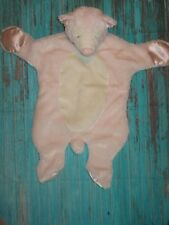 Douglas Sshlumpie Cuddler Pink Ivory Bear Security Blanket/Lovey