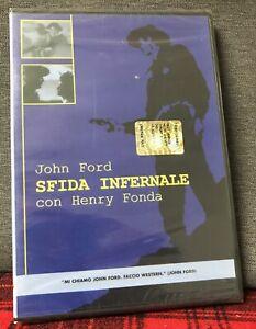 Sfida Infernale (1946) DVD Nuovo Sigillato John Ford Henry Fonda Dentino