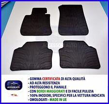 Tappetini per Bmw Serie 3 E90 4 porte dal 2005 al 2012 Gomma Tappeti auto