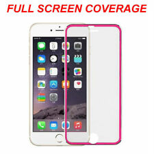100% Genuine Tempered Glass Screen Protector Edge to Edge Pink For iPhone8 Plus