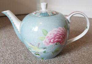 Pip Studio Teapot large 1.5 litre ceramic pottery kitchenware porcelain birds