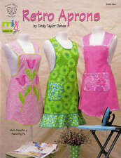 RETRO APRONS SEWING PATTERNS SOFTCOVER BOOK, From Taylor Made Designs NEW