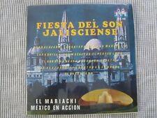 LA FIESTA DEL SON JALISCIENSE ~ EL MARIACHI MEXICO EN ACCION  VINYL RECORD LP