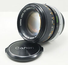 Canon FD S.S.C. 50mm F/1.4 MF Prime Lens from JAPAN in Very Good condition!