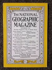 National Geographic Magazine December 1955 No Map, Atlantic Odyssey, 1st America