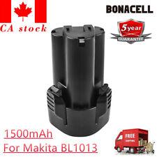 10.8V 1500mAh Li-ion Replacement Tool Battery for Makita BL1013 BL1014 BC703 UB