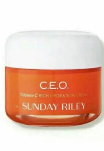 Sunday Riley CEO Vitamin C Rich Hydration & Brightening Cream~Full Size 1.7oz