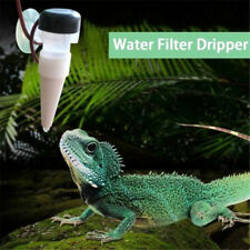 Reptile Drinking Water Dripper Chameleon Lizard Dispenser Terrarium Habitats �™�