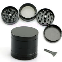 Black Nice 4 Layers Metal Tobacco Crusher Smoke Herbal Herb Grinder Hand Muller