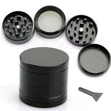Black Nice 4 Layers Metal Tobacco Crusher Smoke Herbal Herb Grinder Hand Muller