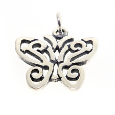 RETIRED James Avery Sterling Silver Open Lace Butterfly Charm FREE SHIPPING