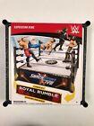 WWE Mattel Spring Action Superstar Wrestling Ring Smackdown/Royal Rumble