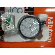 NEW 1PC Mitutoyo 2046S Dial Indicator 0-10mm X 0.01mm Grad