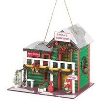 Santas Workshop Birdhouse 10016095 Smc 50% Off $7.99
