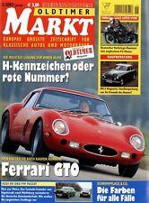 Oldtimer Markt 2003 1/03 Audi 80 VW Passat Ferrari 250 GTO Renault 16 TX Tornax