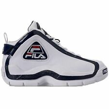 Fila Men's 96 Grant Hill Retro Basketball Shoes White Navy Red 1BM00569-125
