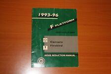 1993-96 Camero Noise Reduction Manual F-Platform Gmp/93-96-F-Nrm Firebird