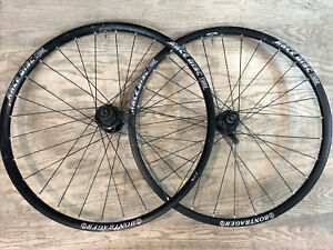 "Bontrager Race Disc Brake Tubeless 26"" Mountain Bike Wheelset 32h Black"
