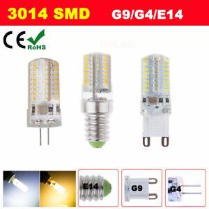 G4 G9 E14 LED Capsule DC 12V/AC220V SMD COB Light Bulbs Lamps Car Boat Caravan