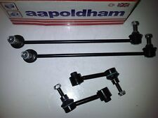VW BEETLE (5C1) & EOS (1F7,1F8) 2X NEW FRONT LINK BARS + 2X REAR LINK BARS