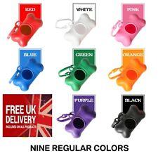More details for dog poo dispenser 45 bags refill carrier poop bag dog cat poo clip doggy holder