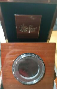 2020 Royal Mint 75th Anniversary End of WWII Gold Proof Five Ounce empty box