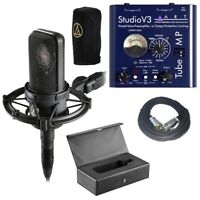Audio Technica AT4040 with ART Tube MPSTV3 Microphone Preamp and 20' XLR Cable