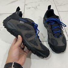 Merrell Yokota 2 Waterproof Hiking Shoes Mens Size 8 Granite Grey Blue J99969