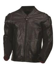 ROLAND SANDS DESIGNS Zuma Leather Motorcycle Jacket Black Men's