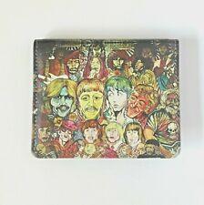 Beatles Wallet Credit Card Holder Rock&Roll Hall of Fame Graffiti Wallet