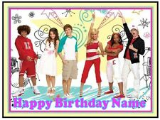 EDIBLE CAKE IMAGE HIGH SCHOOL MUSICAL BIRTHDAY ICING SUGAR SHEET PARTY TOPPER