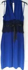 Viscose Patternless Ballgowns Sleeveless Dresses for Women