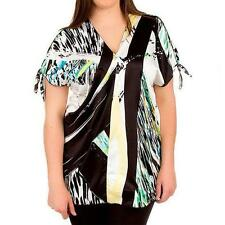 Women's Plus Polyester Evening, Occasion Tunic Tops & Blouses
