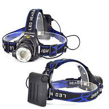 5000LM XML T6 LED Zoomable HeadLamp Zoom HeadLight AA Head Lamp Torch Flashlight