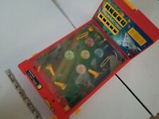 Space Attack Pinball Machine Radio Shack Action Red Yellow Parts Only One Ball