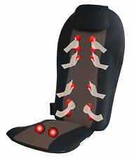 Carepeutic Shiatsu Back Massager with Swing Motion and Heated Therapy KH272B02