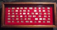 Flags of the American Revolution - Franklin Mint Mini Sterling Silver Ingot Set