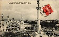CPA  Bordeaux - Exposition Meritime 1907 -Le Grand Palais, Monument ... (655333)